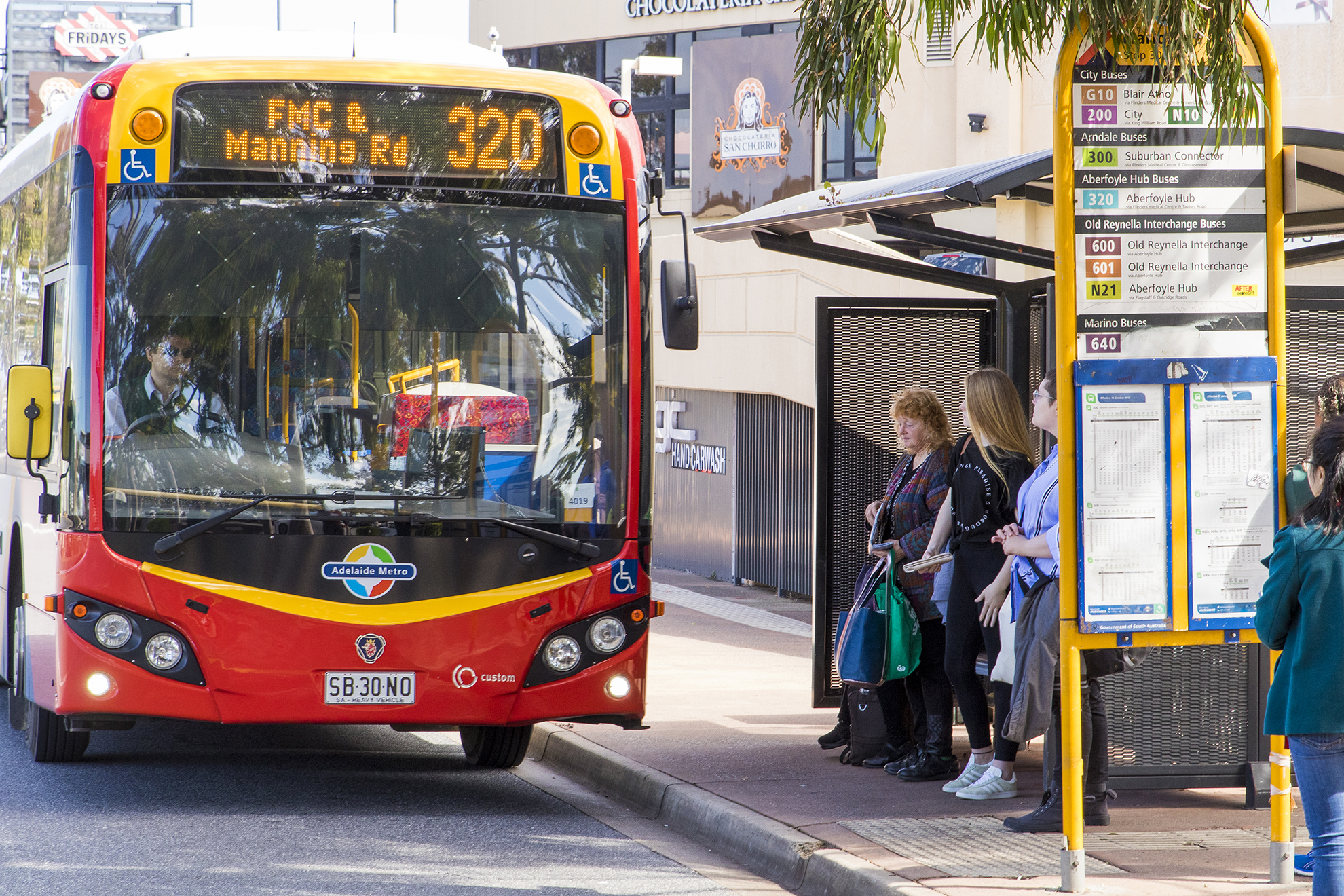Adelaide bus network