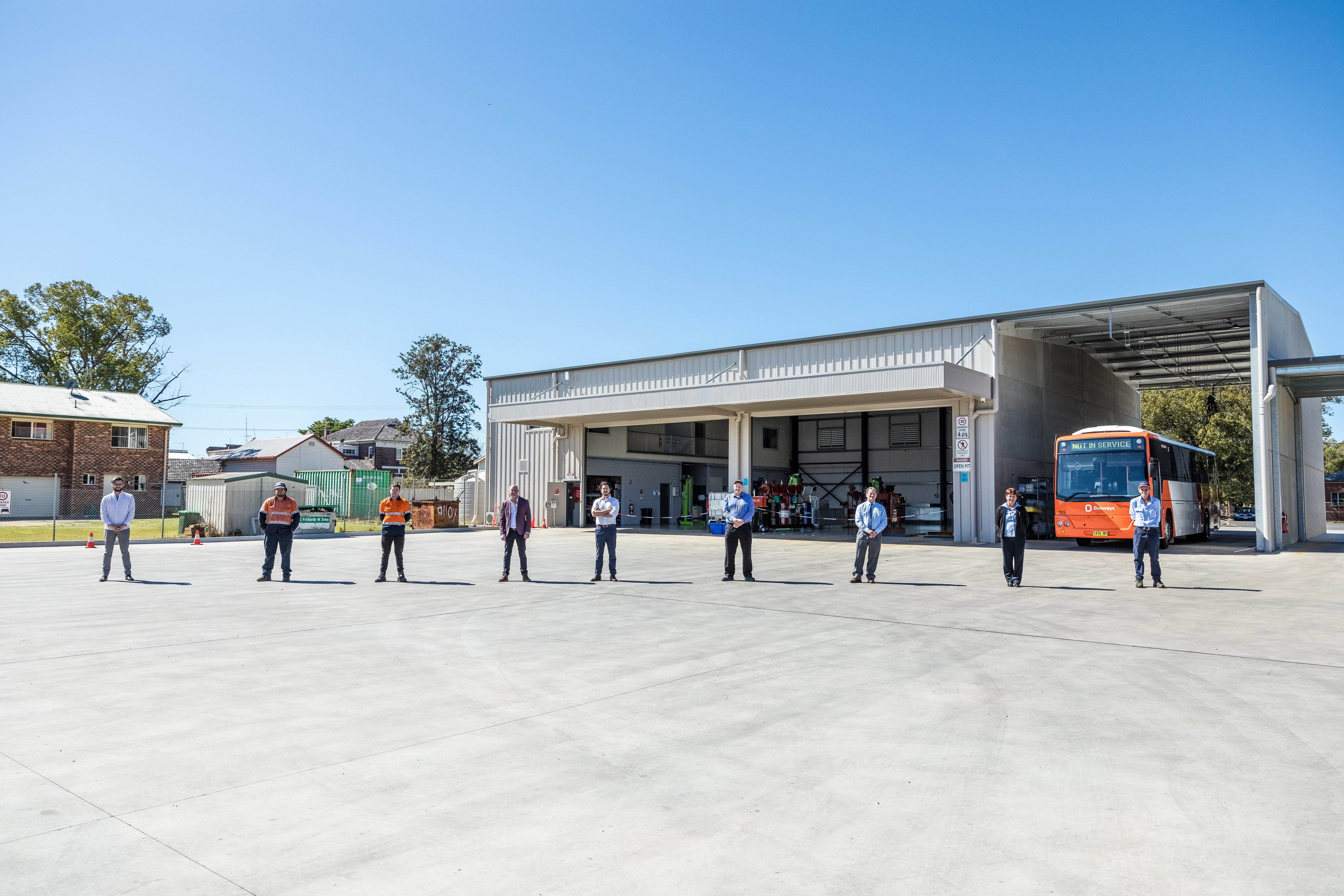 Busways' Grafton workshop is officially open